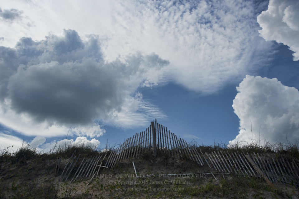 Topsail Skyscape #62, Topsail Island, NCDigital Color PhotographJames C. Williams Photography© Copyright 2015 James C. Williamswww.jamescwilliamsphoto.com