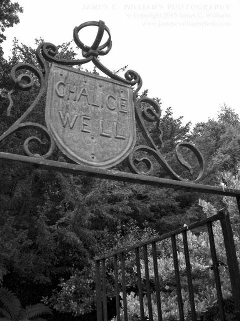 The gateway to the lovely Glastonbury Chalice Well. Shot in 2008, edited for final processing 2015.