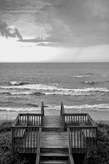 Dune Walk, Topsail IslandDigital Converted Black and White Photograph, 2015James C. Williams Photography© Copyright 2015 James C. Williamswww.jamescwilliamsphoto.com