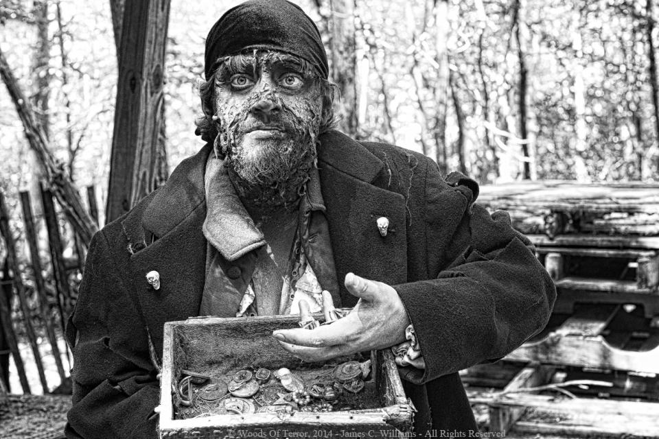 Actor: Joe Collins - Pirate set of Woods of Terror