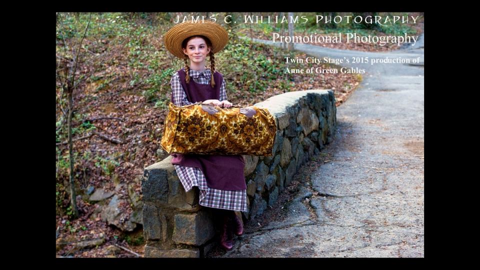 Anne of Green Gables Promo ShootFor Twin City Stage, Winston-Salem, NC, USADigital Color PhotographJames C. Williams Photography© Copyright 2015 James C. Williamswww.jamescwilliamsphoto.com