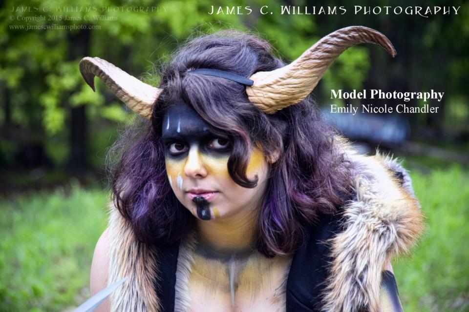Model, Katherine Clayton - Tribal Shoot #6707MUA - Sandy JohnstonEvent Coordinator - Sarah Robertson