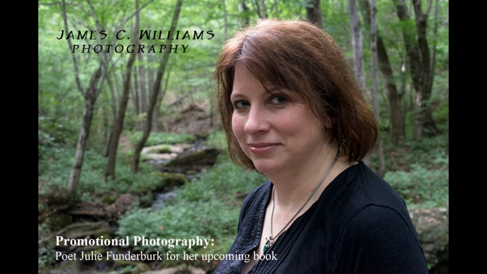 Photo of Poet and Author, Julie Funderburk, by James C. Williams.
