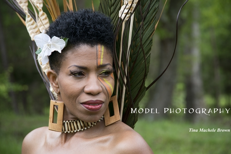 Tribal Shoot #7038Event Coordinator - Sarah RobertsonModel, Tina Machele Brown;  Mua, NiSi Lee