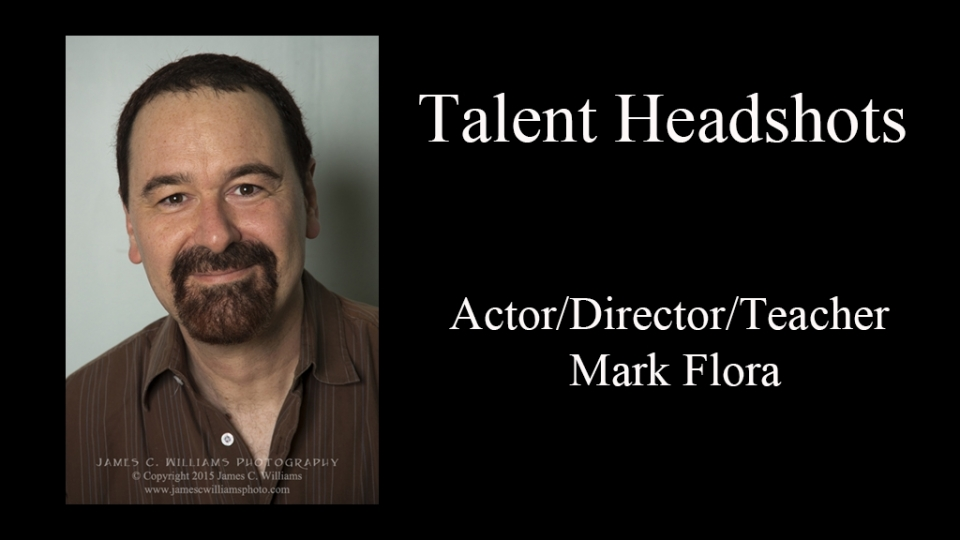 "Mark Flora promotional photo for the Twin City Stage production ""Is He Dead?"""