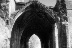 Arches, Elgin Cathedral, Elgin, Moray, ScotlandInfrared Film Photograph; shot in 2012, scanned for digital edit and print 2013, final edit 2015James C. Williams Photography© Copyright 2015 James C. Williamswww.jamescwilliamsphoto.com
