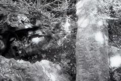 Captured on Kodak HIE-135 Infrared Film September 13 2008 - Final version created 3/6/09 - Arthurian Center - Slaughterbridge - Cornwall