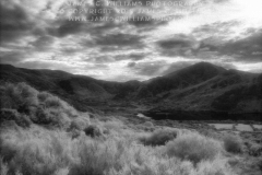 Taken from atop Knockadoon Hill, this is a view across Lough Gur to Knockfennel.Infared Film Photograph; shot in 2005, final edit processed 2015.James C. Williams Photography© Copyright 2015 James C. Williamswww.jamescwilliamsphoto.com