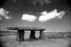Captured on Kodak HIE-135 Infrared Film September 13 2008 - Final version created 2/19/09 - Lanyon Quoit - Cornwall England