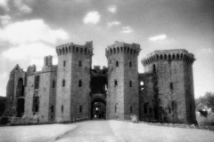 Raglan Castle, Raglan, Monmouthshire, WalesInfrared Film Photograph; shot in 2008, final edit processed 2015James C. Williams Photography© Copyright 2015 James C. Williamswww.jamescwilliamsphoto.com