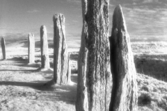 Weathered Stones, Ring of BrodgarOrkney, ScotlandInfrared Film Photograph by James C. WilliamsShot and edited for print, 2012